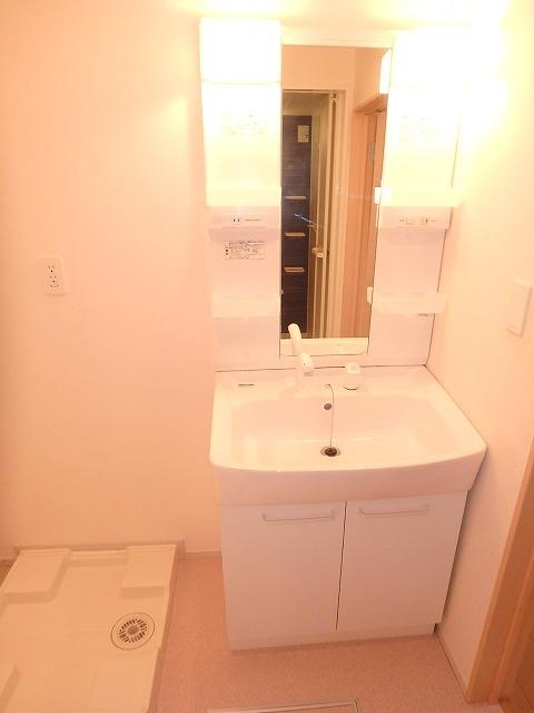 ヴァイオレットミニョン 02010号室の洗面所