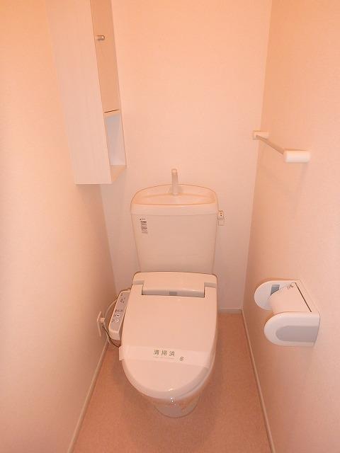 ヴァイオレットミニョン 02010号室のトイレ