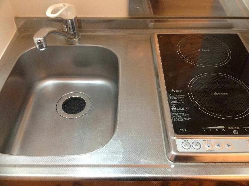 レオパレスFUJIMIⅡ 201号室のキッチン