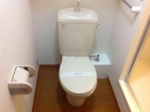 レオパレスFUJIMIⅡ 201号室のトイレ
