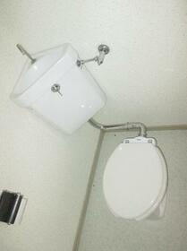 秦正コーポ 0202号室のトイレ