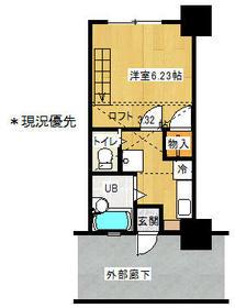レジデンスSUZUKI・304号室の間取り