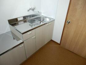 エクセル厚木B 205号室のキッチン