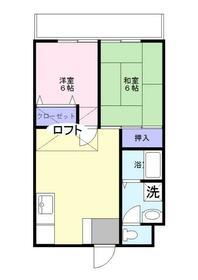 ファミール渋谷Ⅲ 204号室の間取り