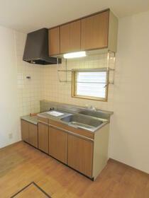 ファミール渋谷Ⅲ 204号室のキッチン