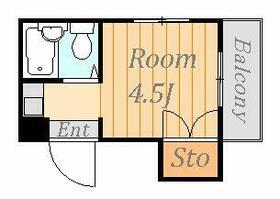 サンアーバン相模原・405号室の間取り