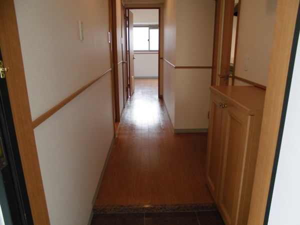 アムール 202号室の玄関