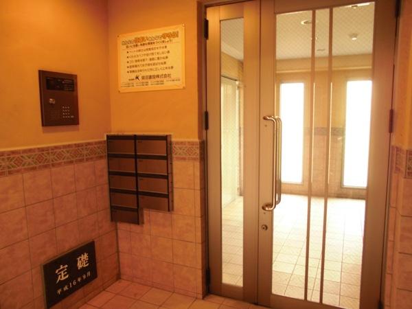 アムール 202号室のバルコニー