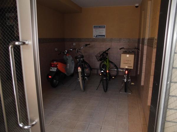 アムール 202号室のキッチン