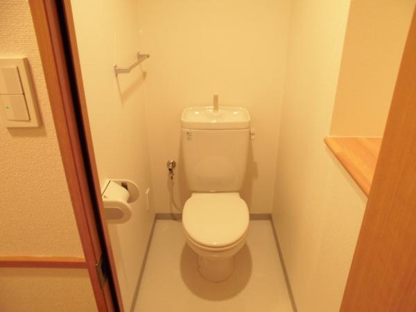 アムール 202号室の洗面所