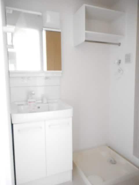 マリーゴールド 01010号室の洗面所
