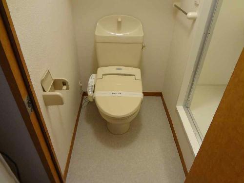 レオパレスグランドゥール 106号室のトイレ