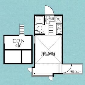 コーポSATHO-A・201号室の間取り