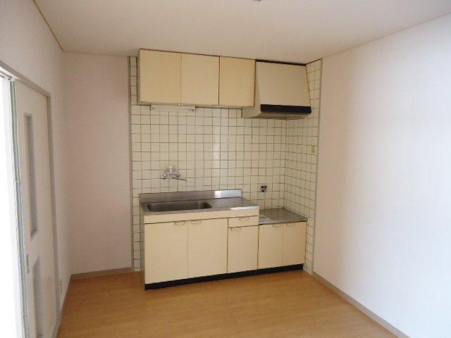 ハッピーパレス北棟 00205号室のキッチン