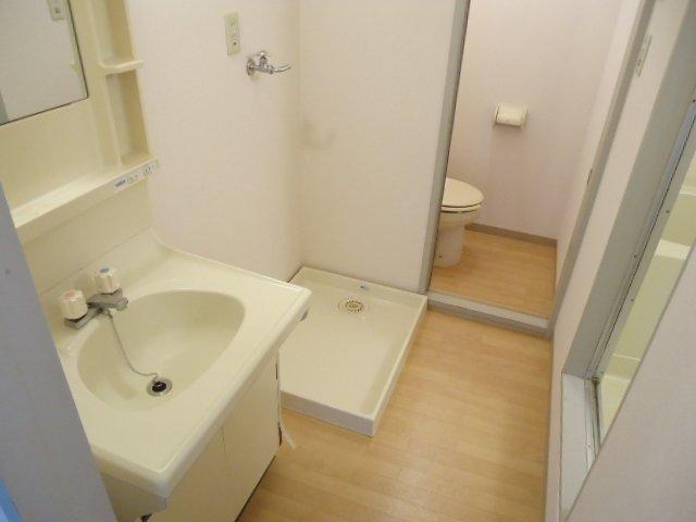 ハッピーパレス北棟 00205号室の洗面所