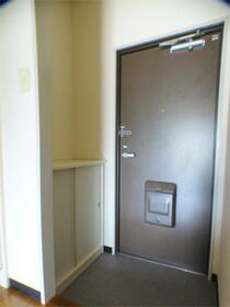 サカイハイツV 302号室の玄関