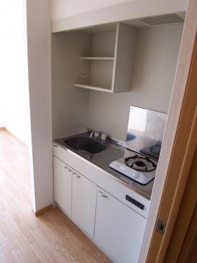 ハイライズ ミズキ 01040号室のキッチン