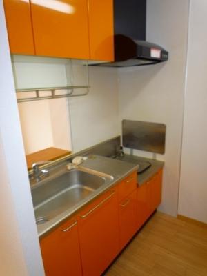 ボヌール・フーカ 202号室のキッチン