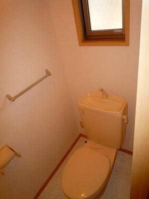 ボヌール・フーカ 202号室のトイレ