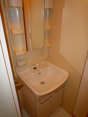 ボヌール・フーカ 202号室の洗面所