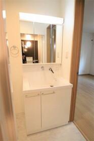 ネスト ケーツー 102号室の洗面所
