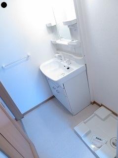 プリート 01040号室の洗面所