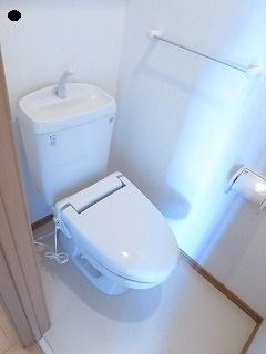 プリート 01040号室のトイレ