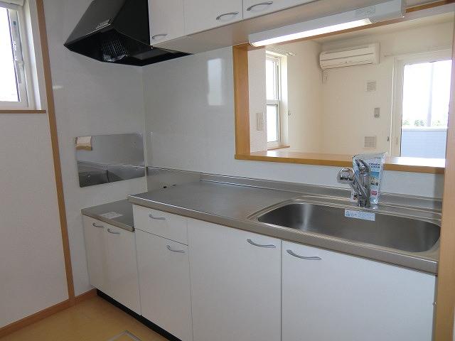 プリート 01040号室のキッチン
