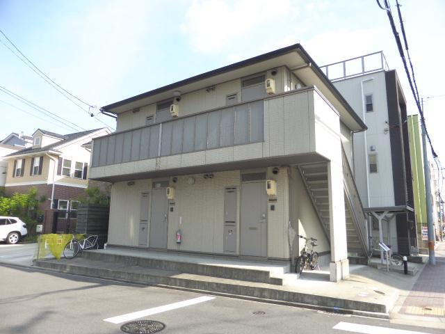 タウンコート筒井外観写真