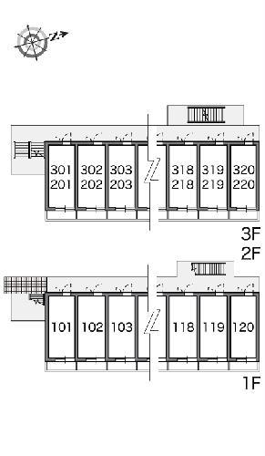 レオパレス水向 206号室のその他