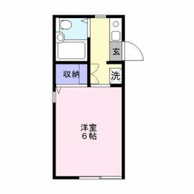 Maison'88・103号室の間取り
