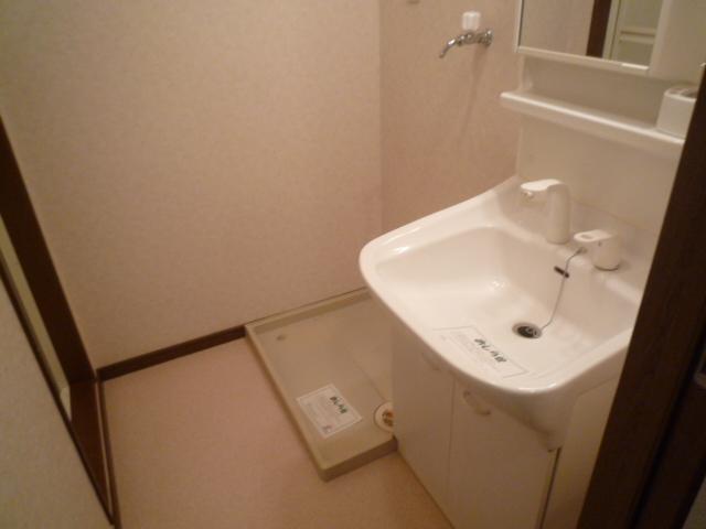 エバーフィールド 03040号室の洗面所