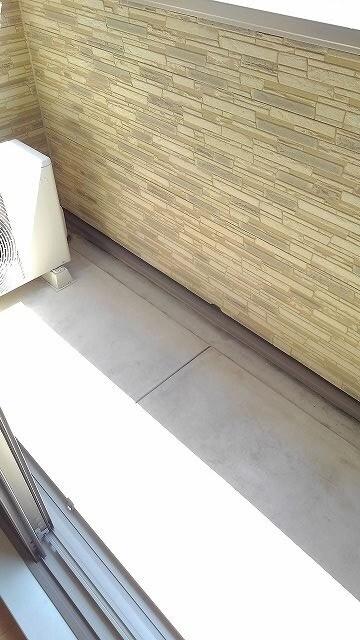 グラン・コート スピカⅡ 01010号室のバルコニー