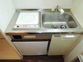 パールシティ川崎 00501号室のキッチン