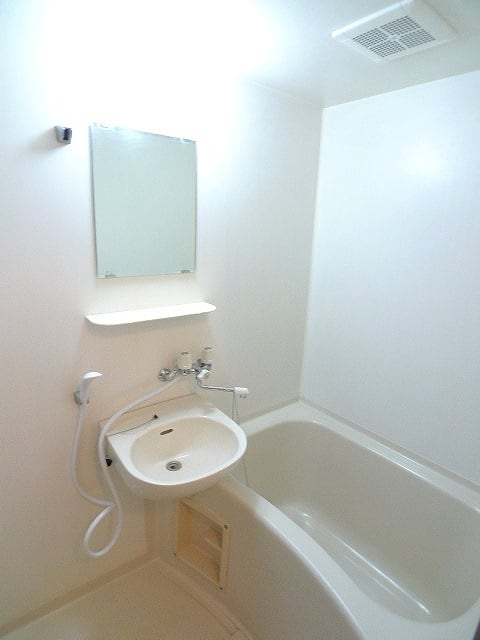 グリーンハイツ 01020号室の洗面所