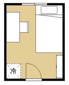 ヒッポハウスTWELVE成増・203号室の間取り