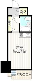 パレ・ドール文京メトロプラザⅠ・411号室の間取り