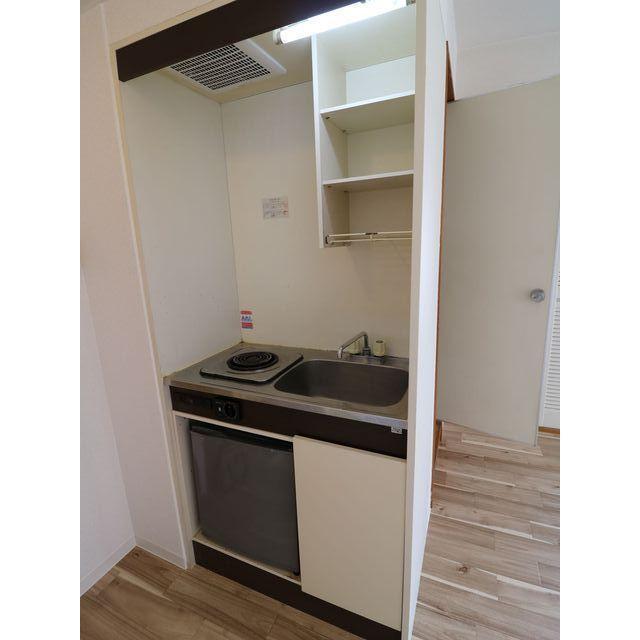 プレール西高島平 301号室のキッチン