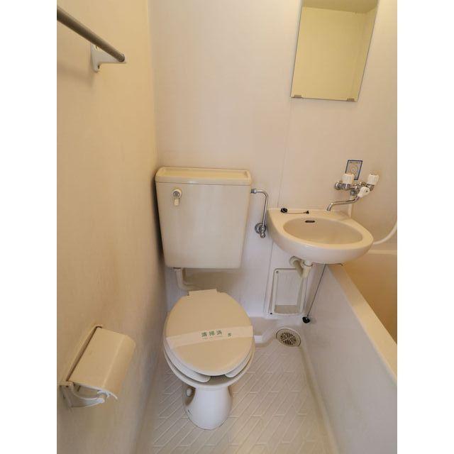 プレール西高島平 301号室のトイレ