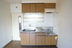 メゾンコスモス 203号室のキッチン