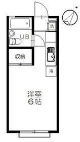 サニー元町Ⅰ 203号室の間取り