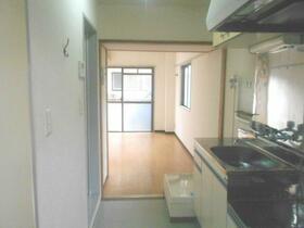 ラフィネ仙川 201号室の玄関