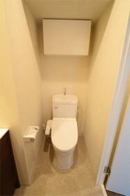アルバ扇橋 801号室のトイレ