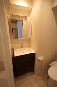 アルバ扇橋 801号室の洗面所