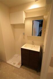 アルバ扇橋 802号室の洗面所