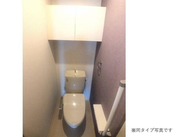 ミルキーウェイB 01040号室のトイレ