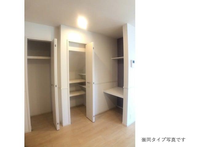 ミルキーウェイB 01040号室の収納