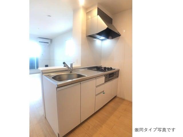 ミルキーウェイB 02040号室のキッチン