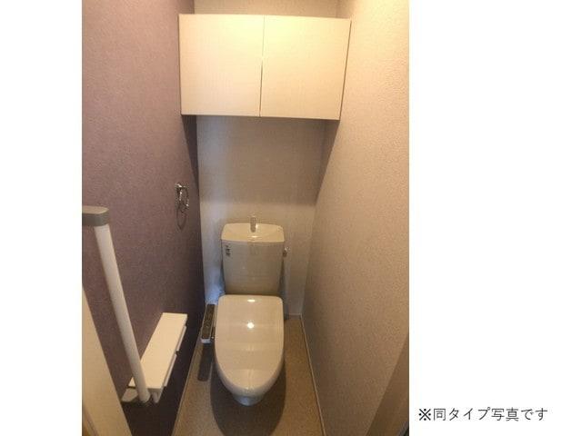 ミルキーウェイB 02040号室のトイレ
