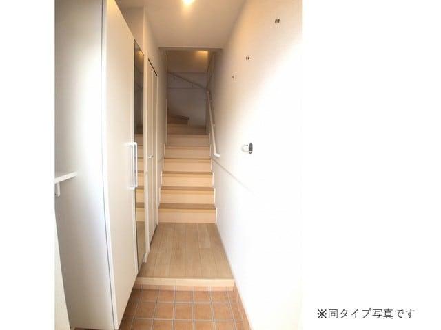 ミルキーウェイB 02040号室の玄関